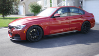 BMW F30 M SPORT // VELGEN WHEELS VMB5 SATIN BLACK // CUSTOMER SUMMITED