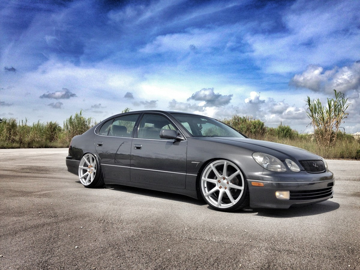 LEXUS GS300 SPORT DESIGN ON VMB8 MATTE SILVER