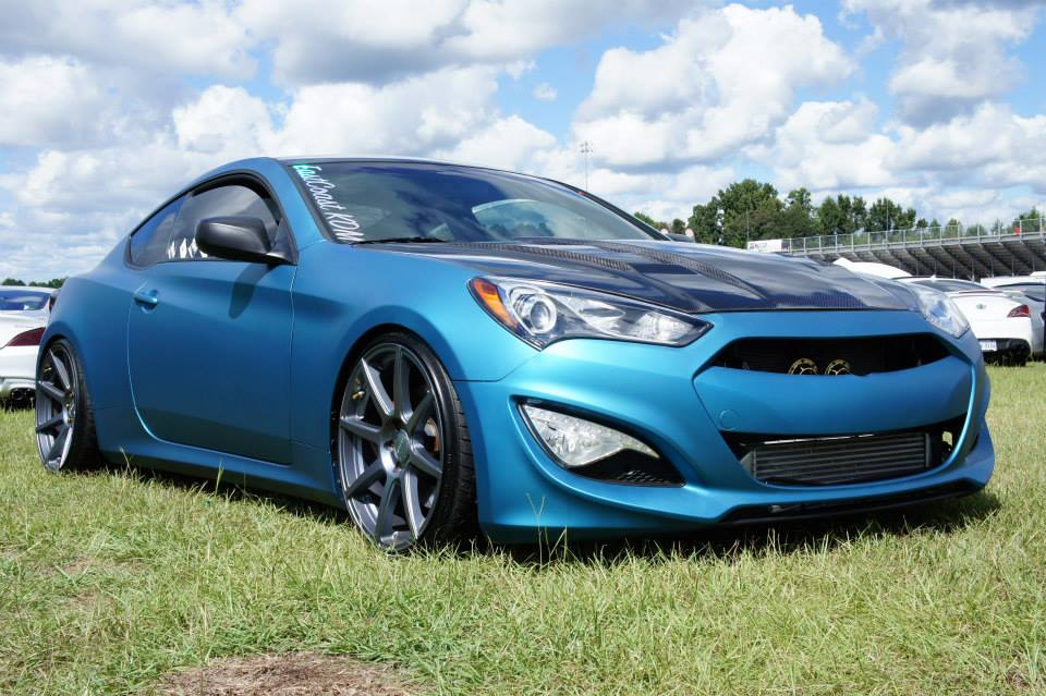 GenCoupe Matte Blue on VMB8