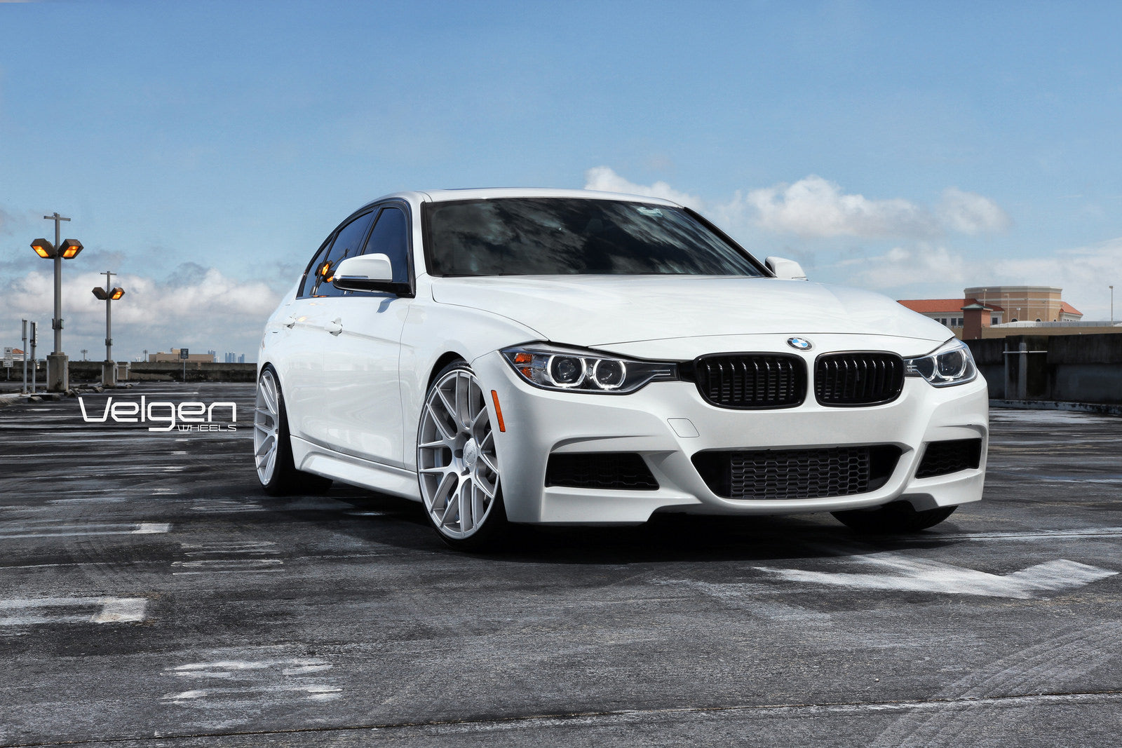 4-BMW F30 ON VELGEN WHEELS