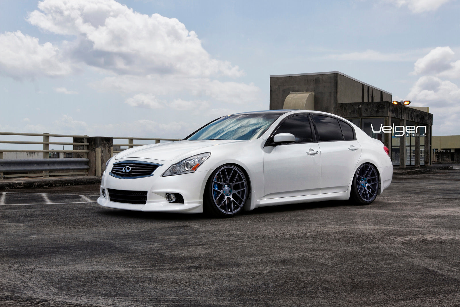 7-INFINITI G37 ON VELGEN WHEELS VMB7