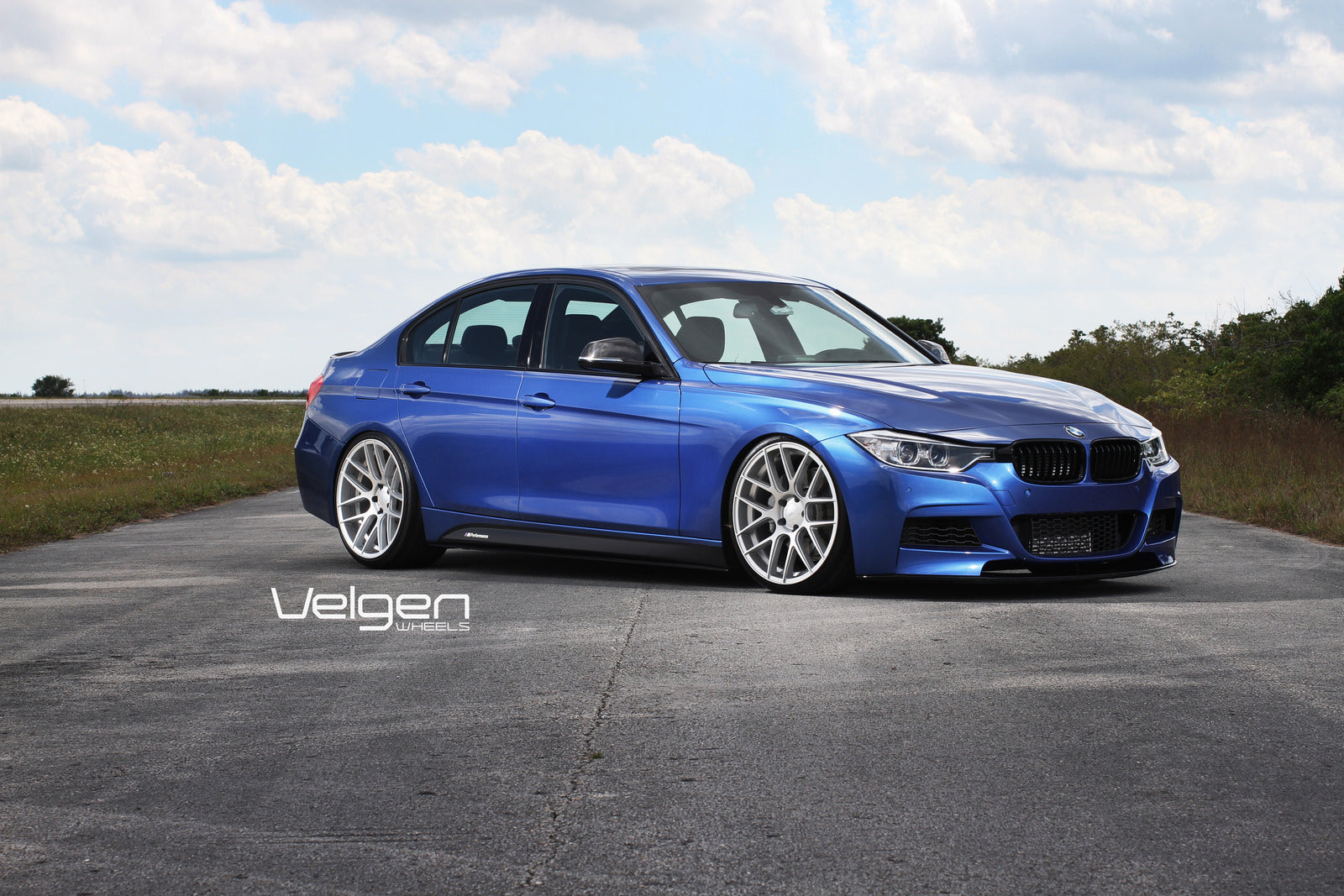 8-BMW F30 MSPORT ON VELGEN WHEELS VMB7