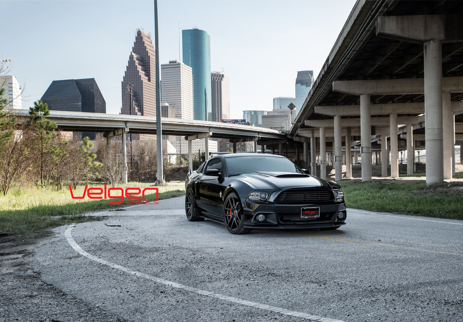 8-Ford Mustang GT 5.0 on Velgen Wheels