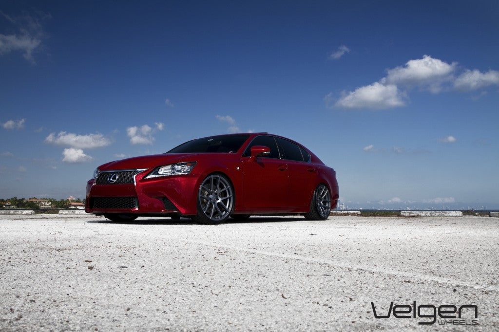 2013 LEXUS GS350 FSPORT ON VMB5 // Matte Gunmetal