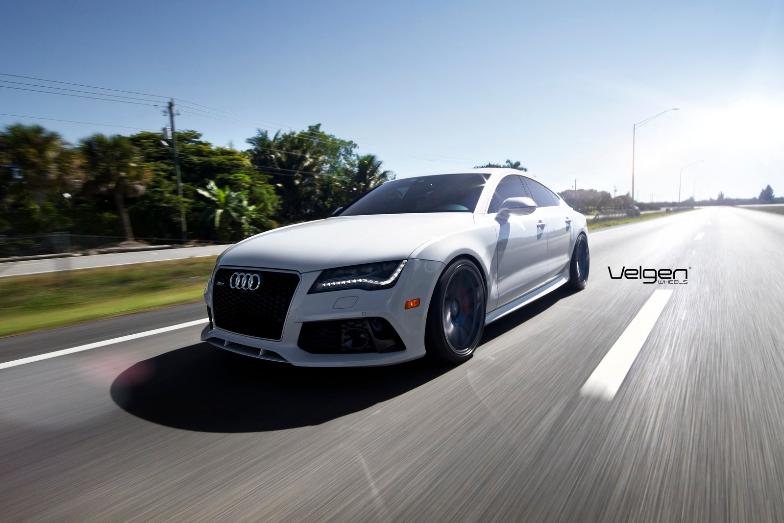 Audi Rs7-Custom Wheels Rolling
