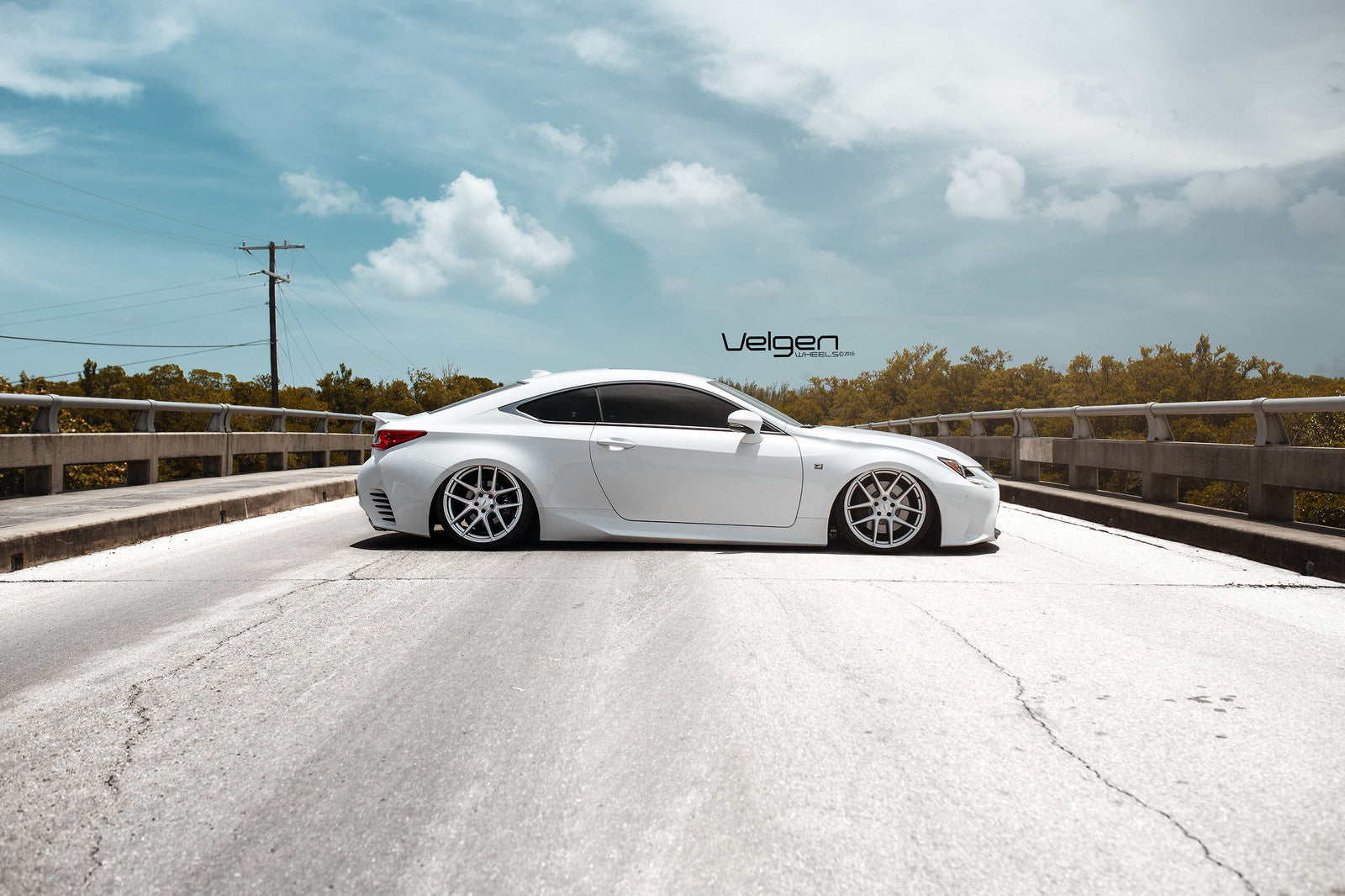 Bagged RC200t Velgen Wheels VMB5 - 7