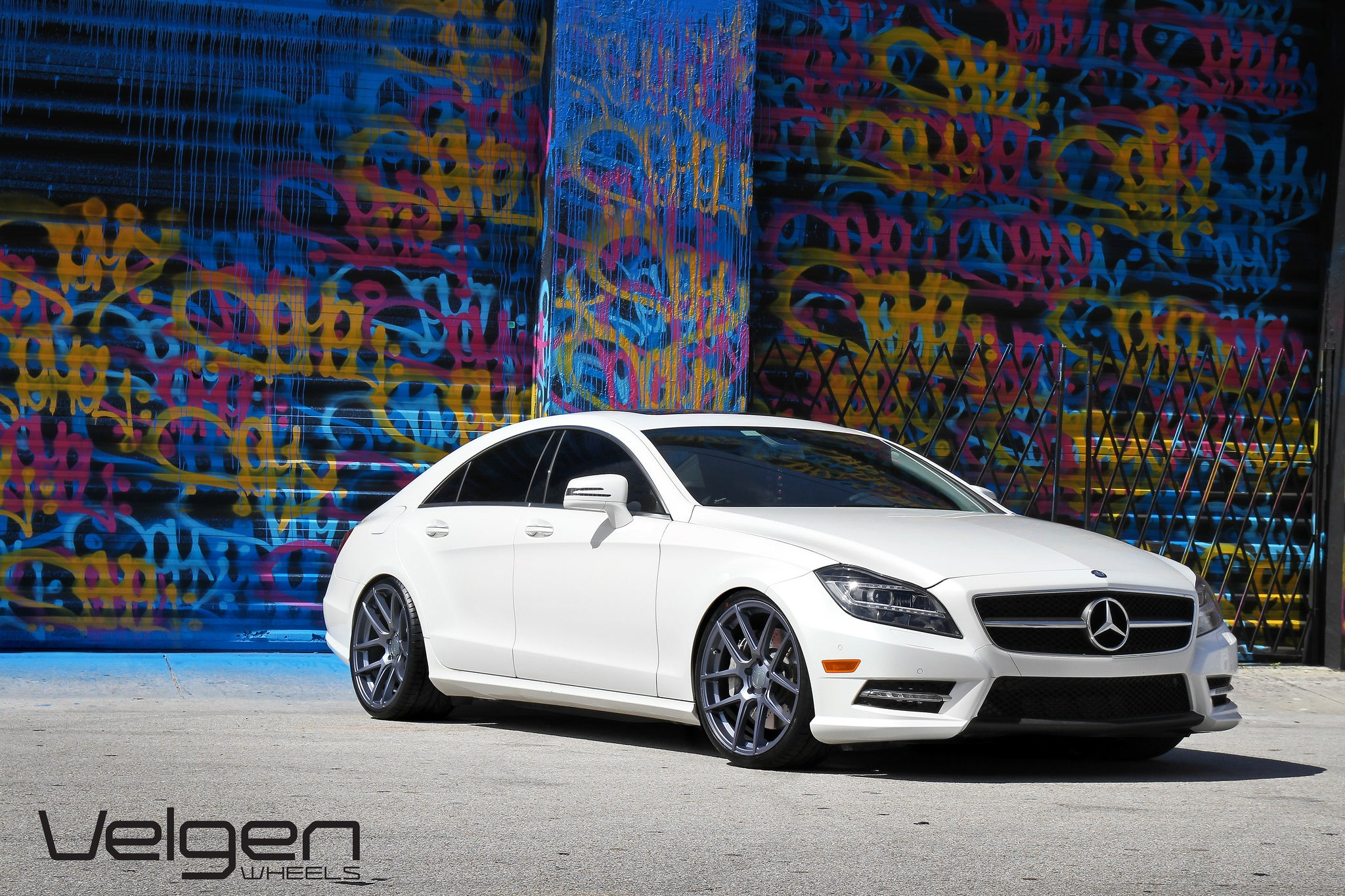 CLS 550 lowered on Velgen VMB5