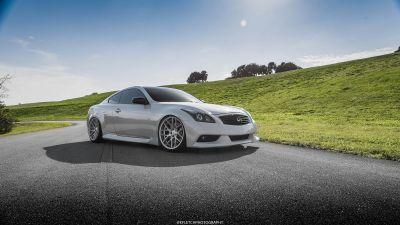 G37 Coupe VMB7 Silver - 1