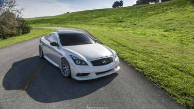 G37 Coupe VMB7 Silver - 2