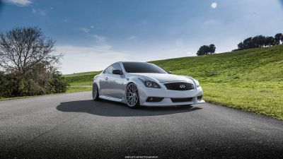 G37 Coupe VMB7 Silver - 3