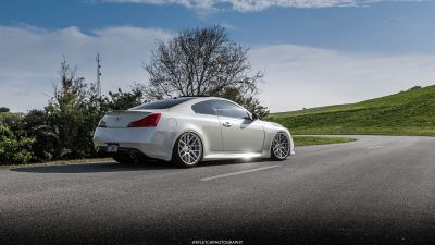 G37 Coupe VMB7 Silver - 4