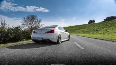 G37 Coupe VMB7 Silver - 5