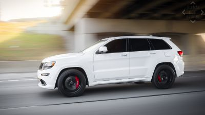 Jeep SRT8 Velgen VMB5 Satin Black - 2