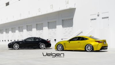 RCF vs RC350 Velgen Wheels - 1