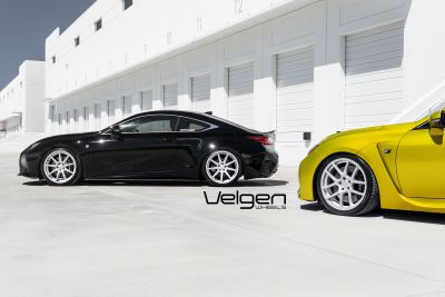 RCF vs RC350 Velgen Wheels - 3