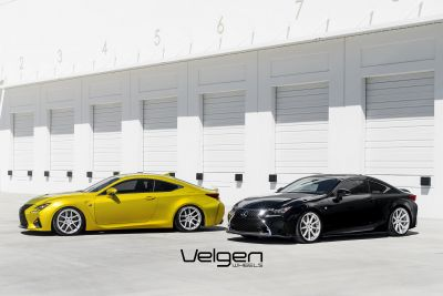 RCF vs RC350 Velgen Wheels - 4