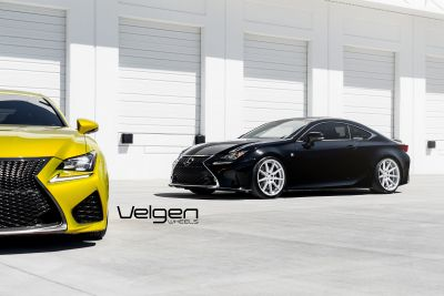 RCF vs RC350 Velgen Wheels - 5