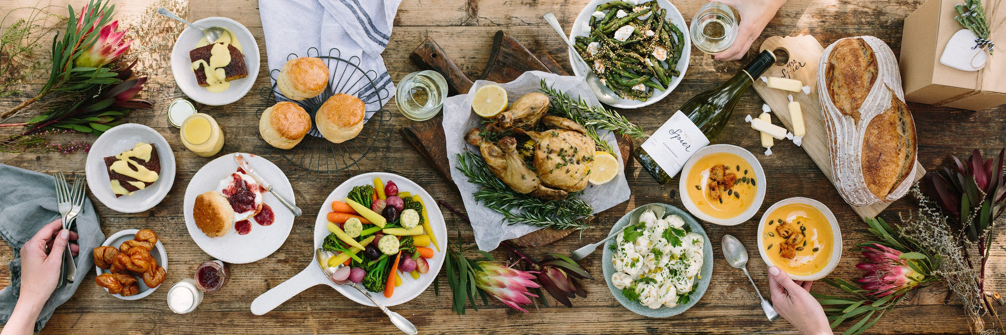 organic mothers day lunch delivery