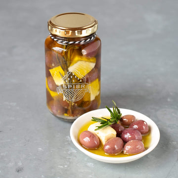 Spier Farm Cafe Preserved Olives & Feta - 250ml