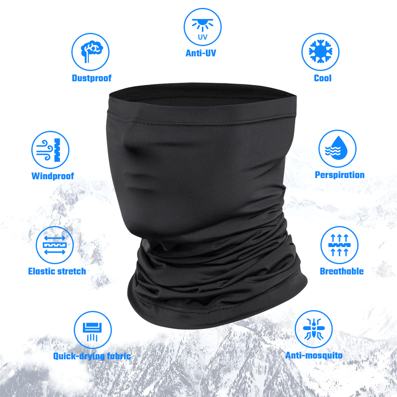 Summer Windproof  Scarf Ice Face Mask