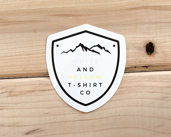 w&y mtns sticker