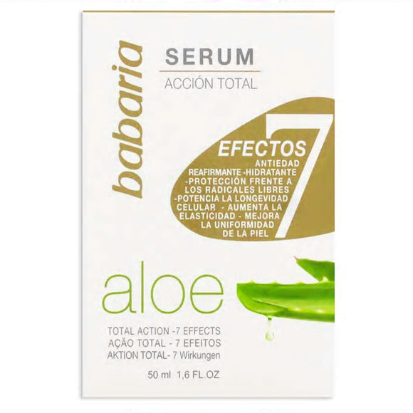 BABARIA. Serum facial con Aloe Vera. 50 ml.