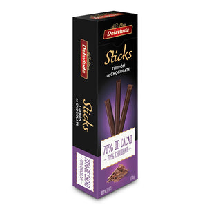 DELAVIUDA. Sticks Turrón de Chocolate. 120 gr.