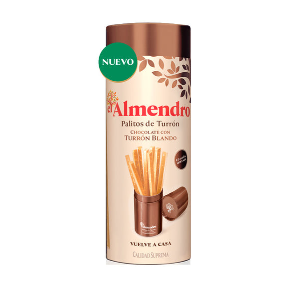 THE ALMOND. Soft nougat chocolate sticks.