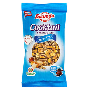 FACUNDO. Cocktail de frutos secos sin sal. 150 gr.