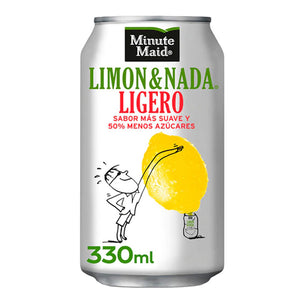 MINUTE MAID Limón&Nada Ligero 33cl.