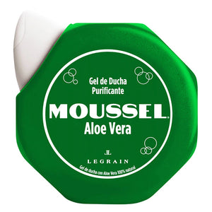 MOUSSEL. Gel de ducha purificante Aloe Vera 600 ml.