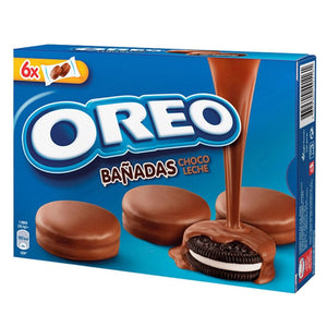 OREO. Galletas bañadas de chocolate. 240 gr.
