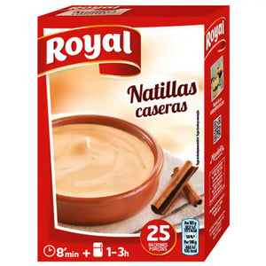 ROYAL. Natillas caseras 100 gr.
