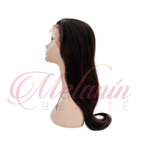 human hair lace straight wig