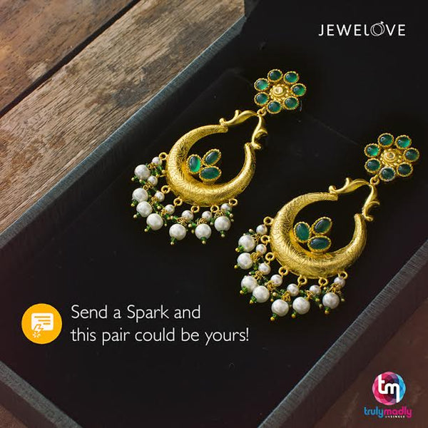 Truly Madly is offering Ladies this Jewelove silver earrings!