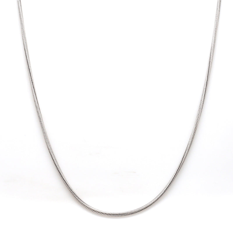 Thicker Plain Platinum Snake Chain SJ PTO 712-A