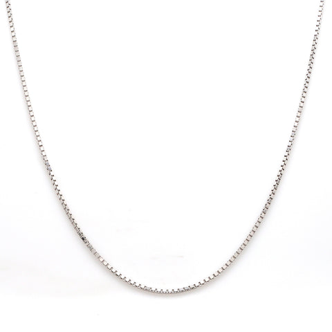 Japanese Thick Platinum Box Chain for Men JL PT 702 - Men