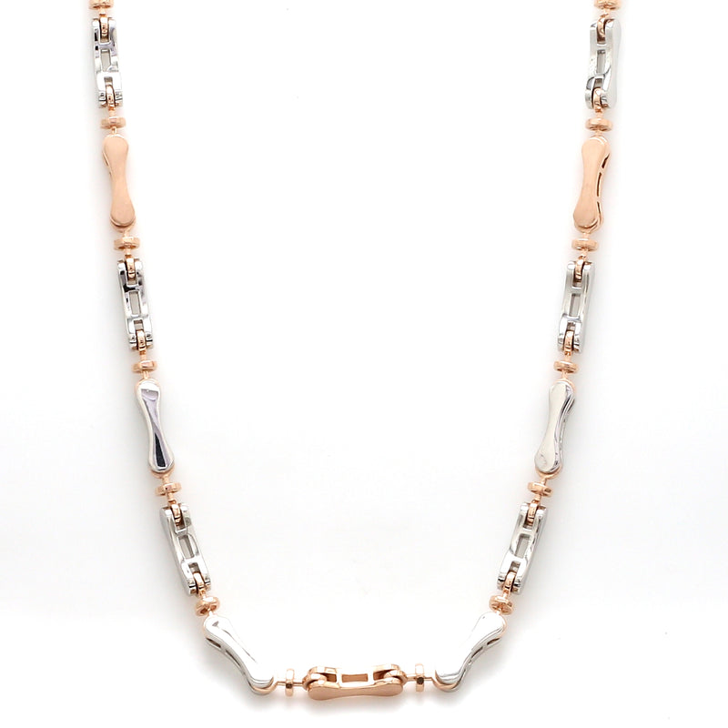 Men of Platinum | Rose Gold Fusion Chain for Men JL PT 759