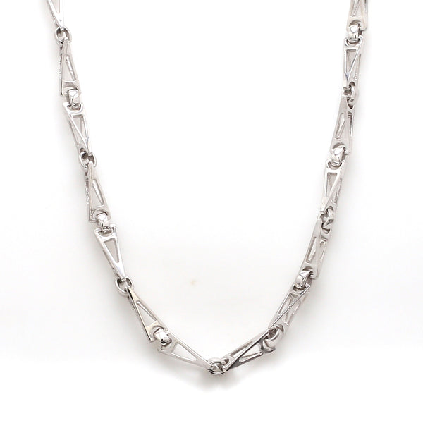 Men of Platinum | Linked Platinum Chain for Men JL PT 757