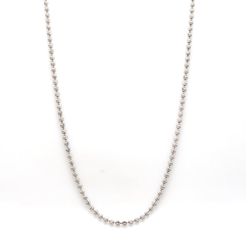 Platinum Chain with Shiny Balls JL PT CH 962