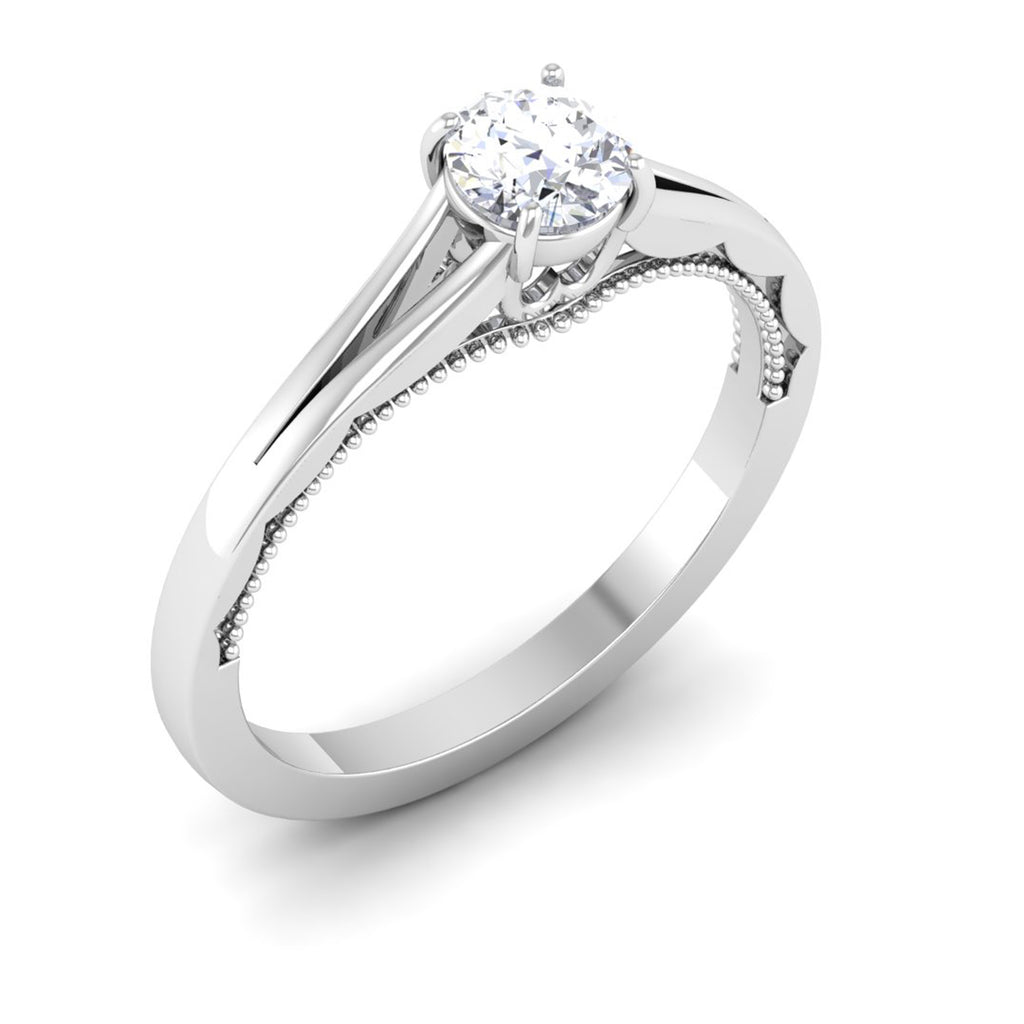 diamond cushion cut main ring engagement shank product rings nina split sylvie