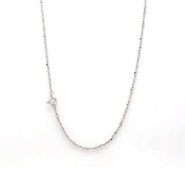 Japanese Shiny Platinum UniSex Cable Chain JL PT CH 969