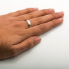 Classic Platinum Love Bands without Diamonds SJ PTO 104