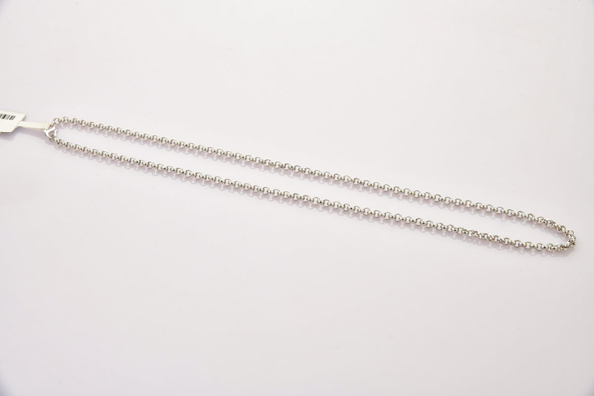 Platinum Chain for Men with Round Links JL PT CH 873