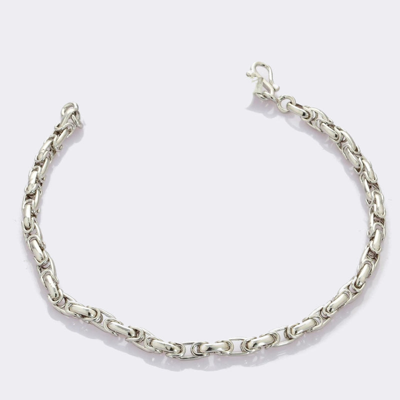 Linked Platinum Bracelet for Men JL PTB 687
