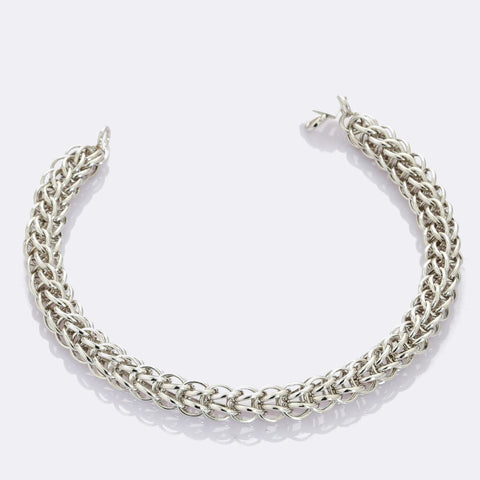 3D Platinum Bracelet for Men JL PTB 703