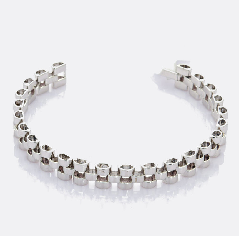 Platinum Bracelet for Men JL PTB 709