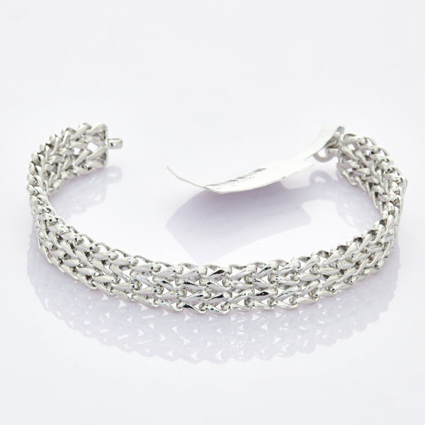 Heavy Platinum Bracelet for Men JL PTB 700