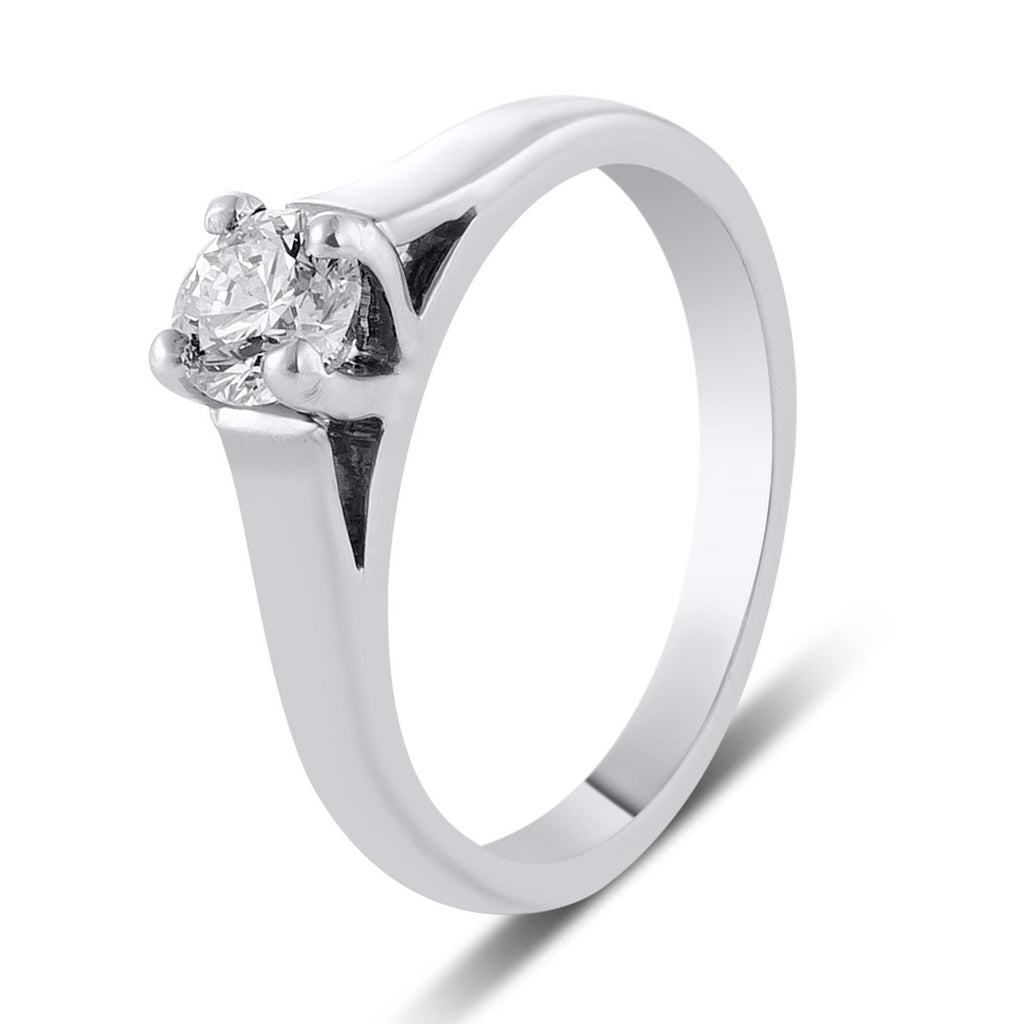 with view suspended engagement solitaire diamond portfolio rings lines v classic prong duquet setting christopher