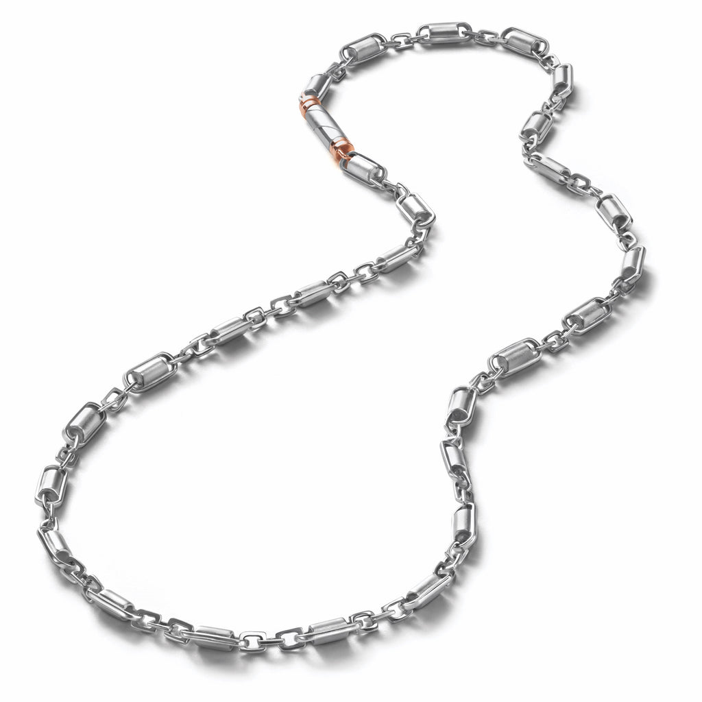 Designer Linked Platinum Men's Chain JL PT 762